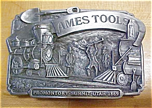 Siskiyou Ames Tools Belt Buckle (Image1)