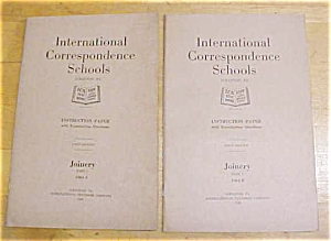 Joinery Instruction Booklet Set ICS 1920 (Image1)