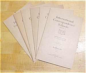 Arithmetic Training Booklet Set ICS 1920 (Image1)