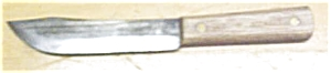 Ontario Knife Co. Knife Hickory Handle (Image1)