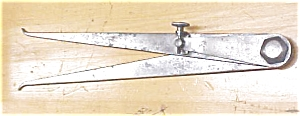 Starrett No. 35 Lock Joint Inside Caliper 12 Inch