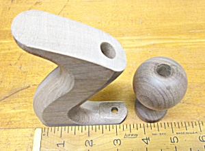 Stanley Plane Handle & Knob No. 5, 6, 7, 8 Walnut Replacement