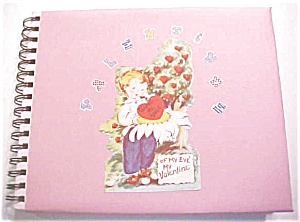 Valentine Collection 1940-50's 94 Pc + Decorated Album