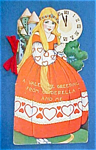 Valentines Book Card Cinderella Very colorful (Image1)