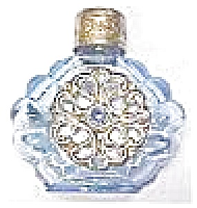 Miniature Perfume Bottle Peacock Blue (Image1)