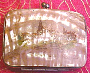 Mother of Pearl Coin Purse 1901 Worlds Fair (Image1)