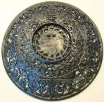 Click to view larger image of Antique Ornate Charger Cast Iron BUDERUS (Image5)