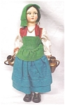 Click to view larger image of Lenci Style Doll Large + Ethnic Costume Italy (Image1)