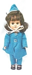 Click here to enlarge image and see more about item DOLL1193: Doll Virga Pam Ginger  + Suit & Hat