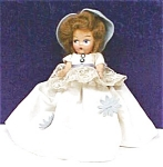 Click here to enlarge image and see more about item DOLL1234: Mayfair Composition Doll Birthstone 1945