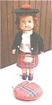 Click here to enlarge image and see more about item DOLL1276: Roddy Doll England Walker 1950's HP Bagpipes