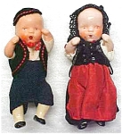 Bisque Dolls Miniature Ethnic Clothing Jointe