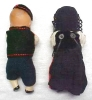 Click to view larger image of Bisque Dolls Miniature Ethnic Clothing Jointe (Image2)