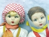 Click to view larger image of Lenci Type Doll Boy & Girl Ethnic (Image2)