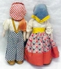 Click to view larger image of Lenci Type Doll Boy & Girl Ethnic (Image3)
