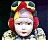 Click to view larger image of Ethnic Doll Vintage Colorful Costume (Image3)