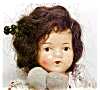 Click to view larger image of German Bisque Doll Jointed Mohair Wig Antique (Image3)