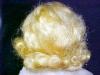 Click to view larger image of Mama Doll Big Eyes Blonde Saran Wig (Image6)