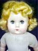 Click to view larger image of Mama Doll Big Eyes Blonde Saran Wig (Image7)