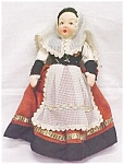 Click here to enlarge image and see more about item DOLL420: Lenci Type Doll Ethnic Dress