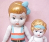 Click to view larger image of Bisque Dolls 1940's Flapper & Bathing Suit 2 (Image2)