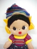 Click to view larger image of Cloth Folk Art Doll Colorful Ethnic (Image2)