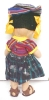 Click to view larger image of Cloth Folk Art Doll Colorful Ethnic (Image3)