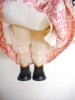 Click to view larger image of Lenci Style Doll Italy Felt Face Ethnic (Image4)