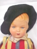 Click to view larger image of Celluloid Doll Palace Guard Colorful Uniform (Image2)