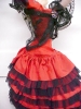 Click to view larger image of Klumpe Roldan Doll Spanish Dancer Lady in Red (Image5)