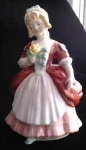 Click here to enlarge image and see more about item EB1101: Royal Doulton Valarie HN2107