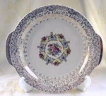 Lovely Royal China Roses Platter