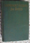 Click here to enlarge image and see more about item EBB1159: Stevenson's Stories For Boys 1935