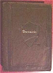 Click here to enlarge image and see more about item EBB2564: The Decameron Boccaccio Leather