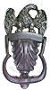 Click to view larger image of Wilton Eagle Door Knocker Cast Iron (Image5)