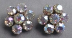 Click here to enlarge image and see more about item EBJ160: Beautiful Weiss Rhinestone Earrings