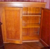 Click to view larger image of Antique Jelly Cupboard Two Doors Shelves (Image2)