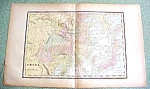 Click to view larger image of Antique Map China 1894 Large Foldout (Image1)
