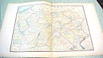 Antique Map Pennsylvania 1894 Large Foldout