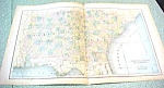 Map Alabama Georgia South Carolina 1894 Lg Foldout