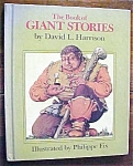 Click here to enlarge image and see more about item GEB3177: Giant Stories by David Harrison & Fix 1972