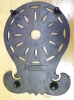 Click to view larger image of Cast Iron Trivet Ornate Design Hopewell Rare (Image2)