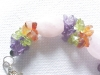 Click to view larger image of Choker Necklace & Bracelet Amethyst Peridot (Image4)