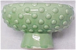 Green Pottery Planter Bowl Bubble Design