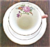 Click to view larger image of Aynsley Teacup & Saucer Beautiful Salmon (Image2)