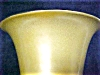 Click to view larger image of Hyalyn Porcelain Vase Rich Gold & Black (Image4)