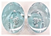 Click to view larger image of Art Glass Paperweight Candleholders Iittala Finland (Image3)