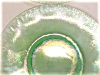 Click to view larger image of Green Stretch Glass Plates US Glass 5 Pc 1920 (Image3)