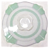 Click to view larger image of Indiana Glass Green & White Platter 1920-30's (Image3)