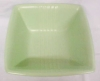 Click to view larger image of Green Pottery Bowl Sleek Deco Style USA (Image2)